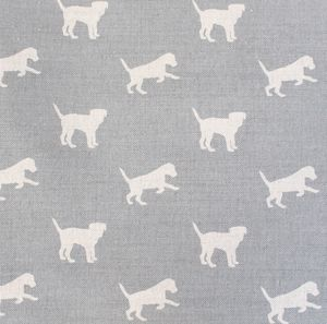 Harris The Border Terrier Fabric