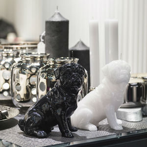 Pug Candle - candles & candlesticks