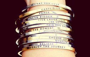 Mantraband Bangle - 21st birthday gifts