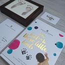 Baby Shower Inkless Handprint Footprint Kit