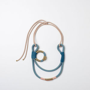Geisha Curve Necklace - women's jewellery