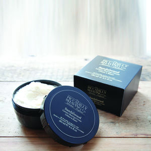 Sandalwood Shaving Cream Bowl - stocking fillers