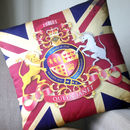 Royalty Has Arrived Personalised Cotton Cushion