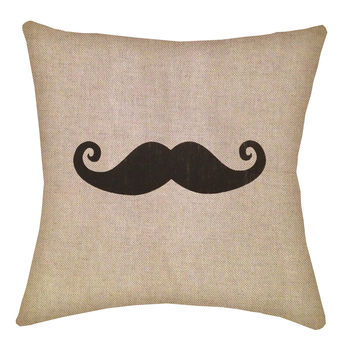 Gentlemans Moustache Cushion