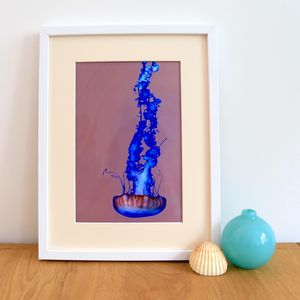 Contrasting Jellyfish Giclee Print