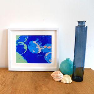 Multiple Jellyfish Giclee Print