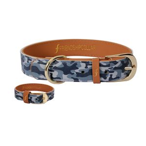 G.I. Pooch Dog Collar And Matching Bracelet