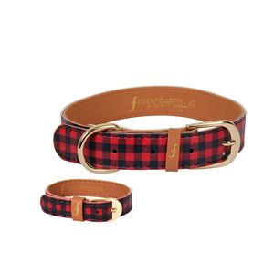 The Hipster Pup Dog Collar And Matching Bracelet - dogs