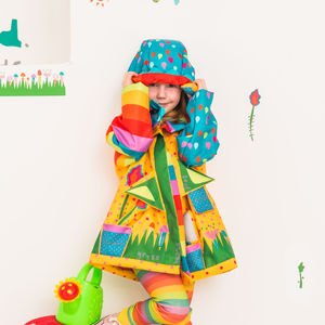 Seeds Raincoat - clothing