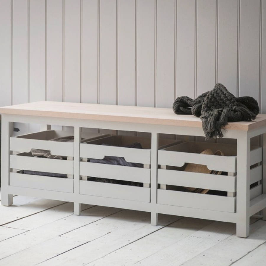 all things Brighton beautiful Storage Bench With Three