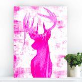Endeering, Stag Canvas Art - prints & art