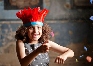 Feather Headband… For Children