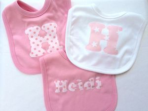 Personalised Baby Bibs - baby care