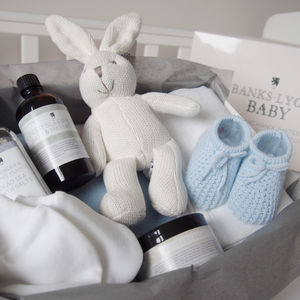 Handmade Organic Create Your Own Baby Boy Gift Box - baby shower gifts