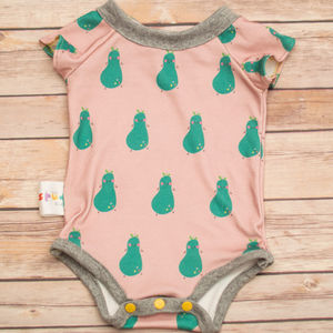 French Pear Bodysuit - baby shower gifts
