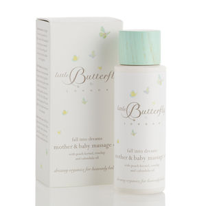 'Fall Into Dreams' Mother And Baby Massage Oil - bathtime