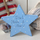 Father / Grandfather Personalised Freestanding Star