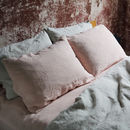 Stone Washed Bed Linen Pillow Case