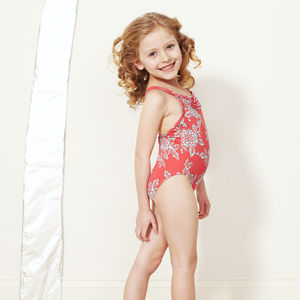 Girl's Ruffle Swimsuit - children's swimwear & beachwear