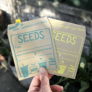 'Starburst' Seed Saver Envelopes - potting shed essentials