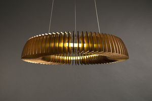 Hanko Wooden Floating Pendant - ceiling lights