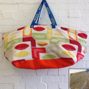 Limited Edition Vintage Ikea Bags - holdalls & weekend bags