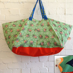 Limited Edition Vintage Ikea Beach Bags - storage bags
