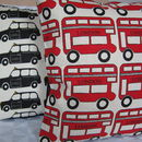London Bus And Taxi Cushion
