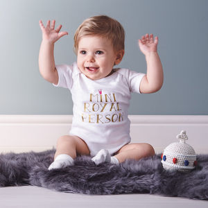 Royal Baby Vest/Bodysuit
