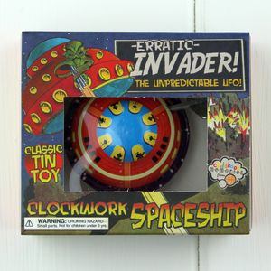 Erratic Invader Clockwork Spaceship - baby & child sale