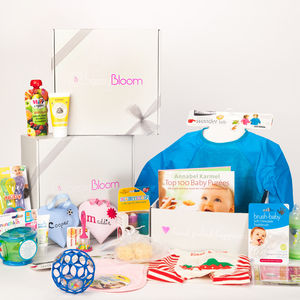 Mother And Baby Personalised Baby Gift Box