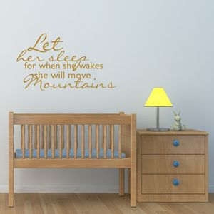 Girls Nursery Wall Sticker - wall stickers