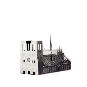Notre Dame Cathedral Metal Model Kits - sculptures