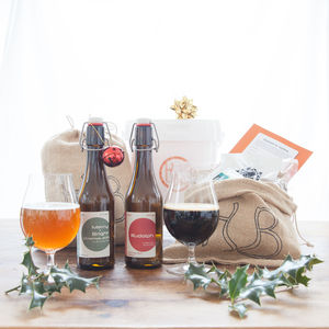 Craft Beer Brewing Christmas Gift Set