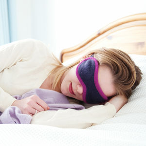 Cashmere Eye Mask - frequent traveller