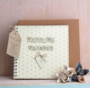 Wedding Planner Book - planning & organising