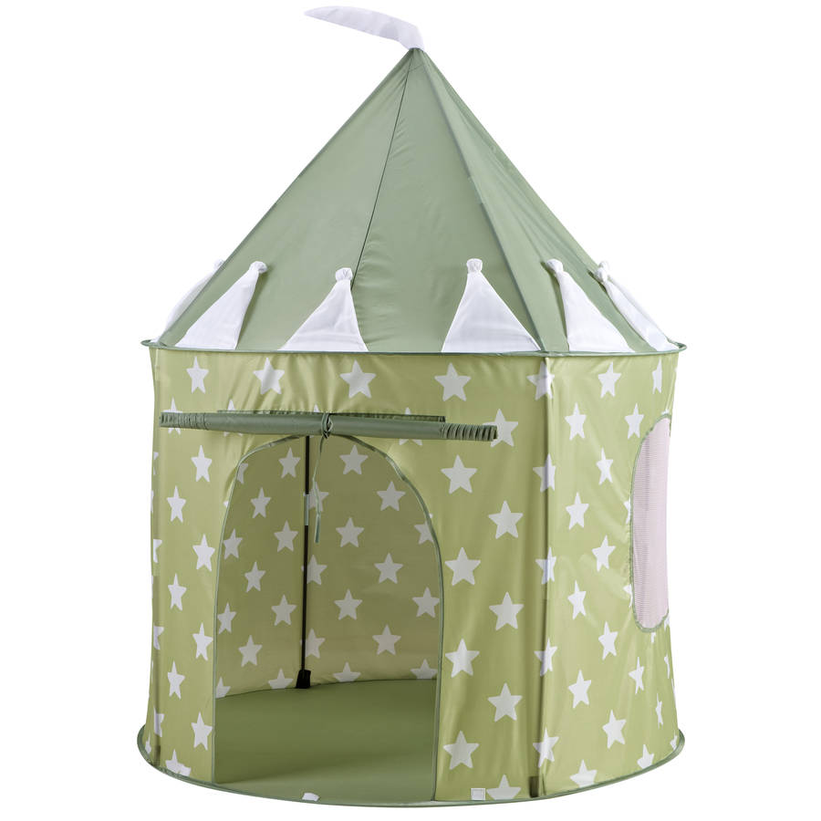 Green Star Play Tent  sc 1 st  Notonthehighstreet.com : personalised childrens tents - memphite.com