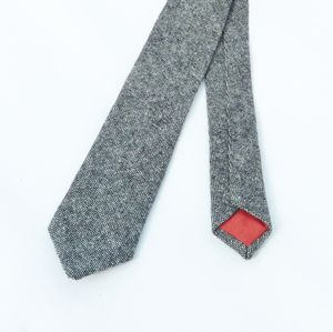 Yorkshire Birdseye Tweed Slim Tie - ties & tie clips