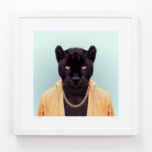 Panther Art Print - posters & prints for children
