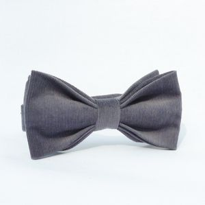 Cotton Corduroy Bow Tie
