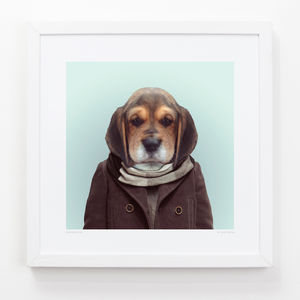 Puppy Art Print - posters & prints for children