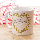 Personalised Bridesmaid Thank You Mug