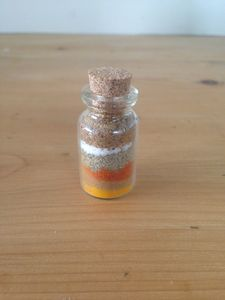 Cute Wedding Favour Spices / Spice Blend In Cork Bottle - unusual favours