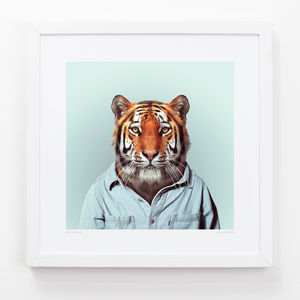 Tiger Art Print - art by category