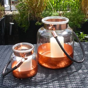 Copper Band Salcombe Lantern - view all sale items
