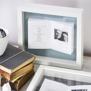 Framed Personalised Photo Book