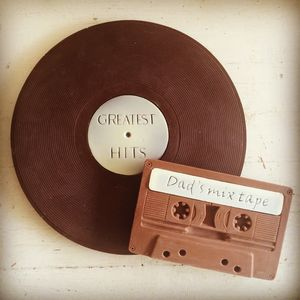 Chocolate Vinyl Record And Cassette Duo - what's new