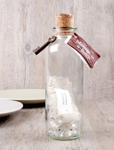 Bridesmaid Message In A Bottle