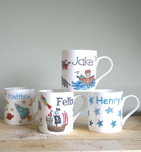 Personalised Mug For Boys - kitchen