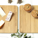 Personalised Double Sided 'Couples' Serving Board